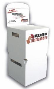 o donner ses livres book h misph res. Black Bedroom Furniture Sets. Home Design Ideas