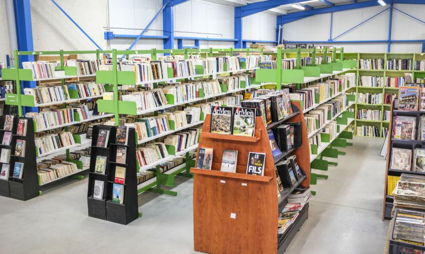 Boutique de livres d'occasion ZA du Braigno 56700 Kervignac